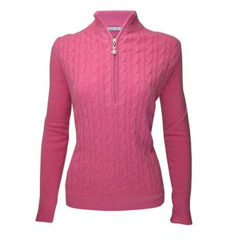 Green Lamb Bella Superwool Sweater - Pink (A5)