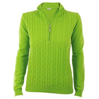 Green Lamb Bella Superwool Sweater - Avocado (A5)