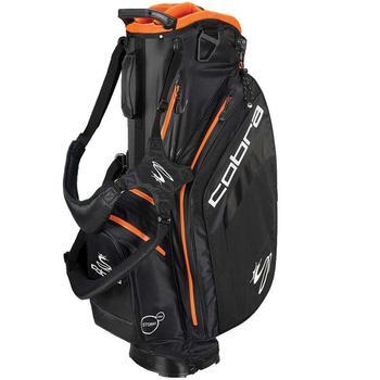 Cobra Golf Bio Dry Stand Bag - Black-Vibrant Orange