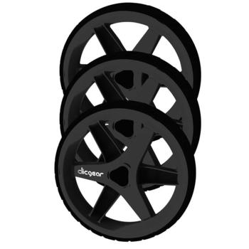ClicGear 3.5 Trolley Wheel Kit - Black