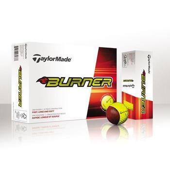 Taylormade Burner Yellow Golf Balls 1 Dozen