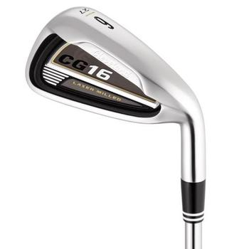 Cleveland CG16 Satin Chrome Irons Steel Left Hand 4-PW