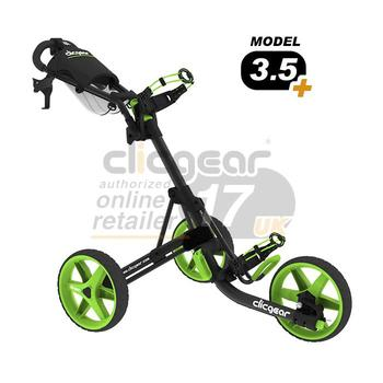 ClicGear Cart Golf Trolley 3.5 Charcoal/Lime