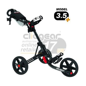 ClicGear Cart Golf Trolley 3.5 Black