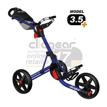 ClicGear Cart Golf Trolley 3.5 Blue