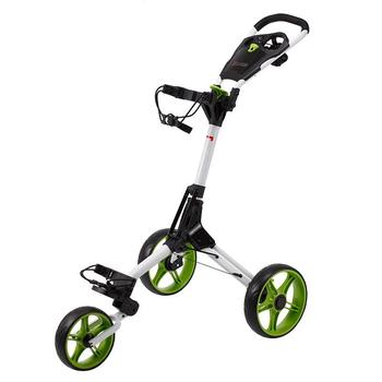 Cube Golf Push Trolley - White/Green
