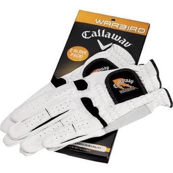 Buy Callaway Warbird Gloves 2 Glove Pack at www.golfgeardirect.co.uk