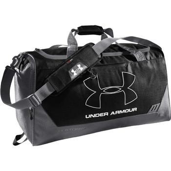 Under Armour Hustle Storm MD Duffle Bag - Black/Graphite