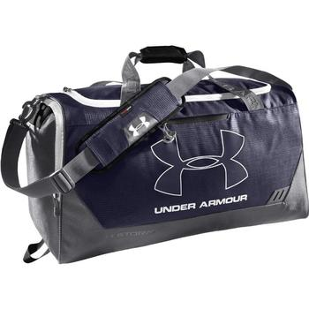 Under Armour Hustle Storm MD Duffle Bag - Midnight Navy/Graphite