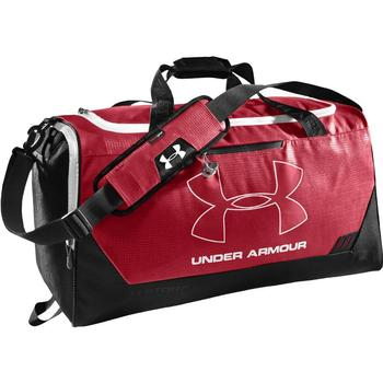 Under Armour Hustle Storm MD Duffle Bag - Red/Black