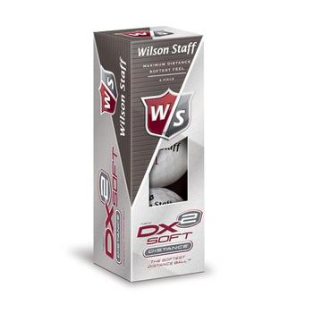 Wilson Dx2 Golf Balls 1 Sleeve