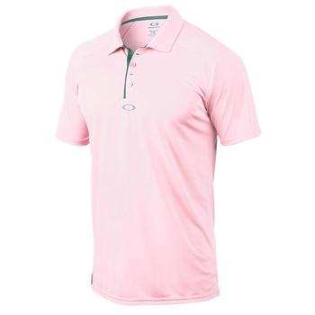 Oakley Elemental 2.0 Polo Golf Shirt - Pink