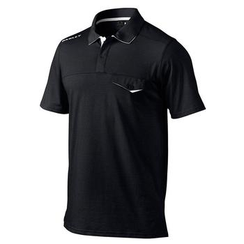 Oakley Ellis Polo Golf Shirt - Black