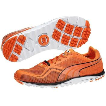 Puma Golf Faas Lite Mesh Golf Shoes - Tradewinds - Vibrant Orange - Size: 7