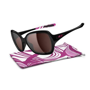 Oakley Ladies's Overtime Breast Cancer Edition Sunglasses - Polished Black