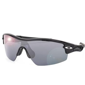 Oakley Men's Pitch Radar Sunglasses - Jet Black
