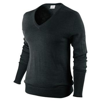 Nike Ladies Coolmax V-Neck Sweater