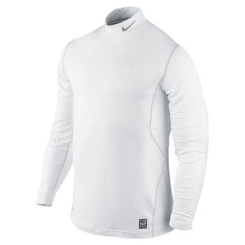 Nike Pro Themal Hyperwarm Mock White