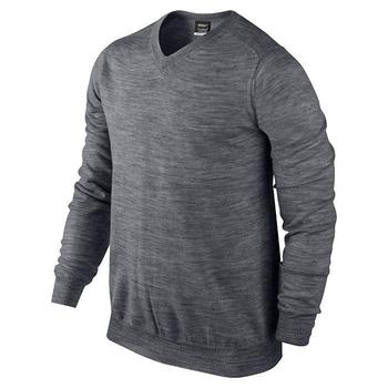 Nike Performance V-Neck Sweater Carbon Heather