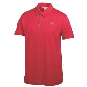 Puma Golf Junior Tech Polo Shirt Red