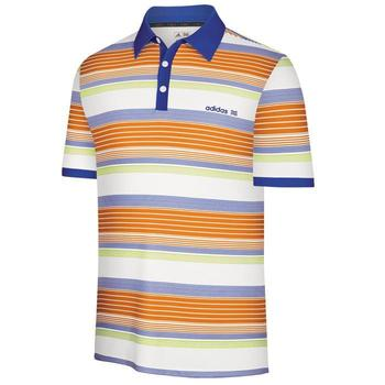 Adidas Boys Fashion Performance Stripe Polo (AJ1)