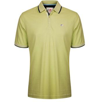 Cutter & Buck Ernest Pique Polo Shirt - Kiwi