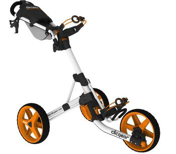 ClicGear Cart Golf Trolley 3.5 White/Orange