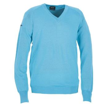 Galvin Green Clive Knitted Sweater - Capri Blue - (G3)