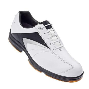 Footjoy AQL(TM) White/Black/Silver Golf Shoes Sale 52688