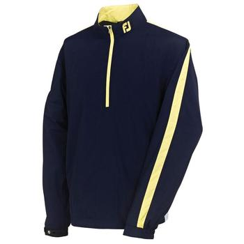 FootJoy Performance 1/2 Zip Wind Shirt #95092  - Navy/White/Yellow (F1)