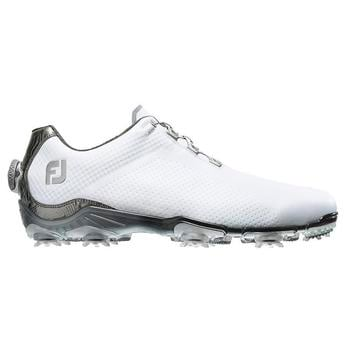 Footjoy D.N.A. Boa White/Grey Golf Shoes (53469)