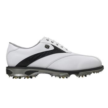 Footjoy DryJoy Tour White/Black Lizard Golf Shoes 53694