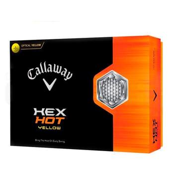 Callaway Hex Hot Yellow Golf Balls