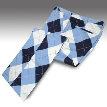 Loudmouth Golf Blue White Argyle Trousers