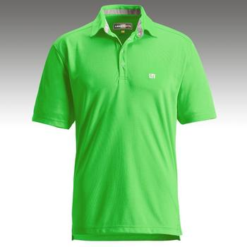 Loudmouth Golf Jewel Shirt In Lime Green Colourway Funky