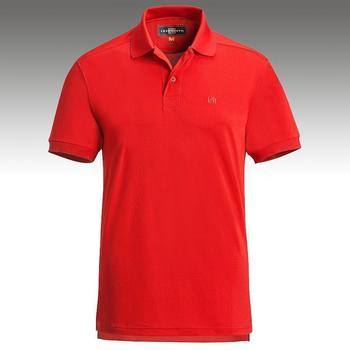Loudmouth Golf Border Shirt In Red Colourway Funky Golf