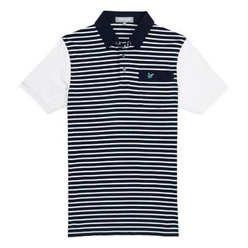 Lyle & Scott Club Fine Stripe Navy 2012