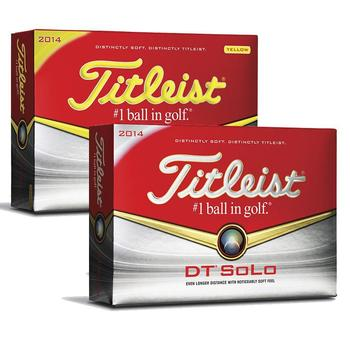 Titleist DT Solo Personalised Golf Balls 2014