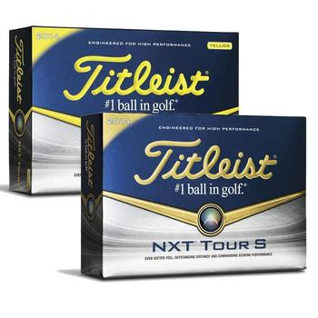 Titleist NXT Tour S Personalised Golf Balls 2014