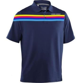 Under Armour Chest Stripe Polo Shirt (1247012-408)