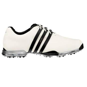 Adidas AdiPURE White/Black Golf Shoes