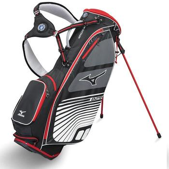 Mizuno Aerolite 5 Stand Bag Black/Red