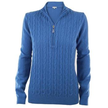 Green Lamb Bella Superwool Sweater - Denim (A5)