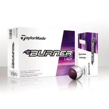 Taylormade Burner Ladies Golf Balls 1 Dozen