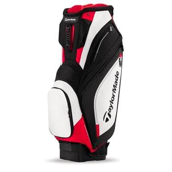 Taylormade Catalina Cart Bag: Black/White/Red