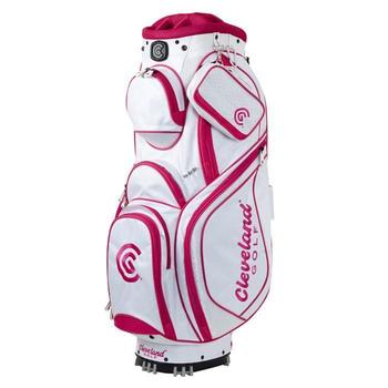 Cleveland Ladies Cart Bag White/Red