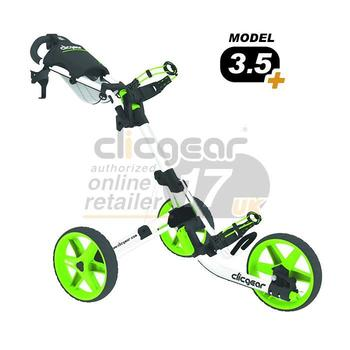 ClicGear Cart Golf Trolley 3.5 White/Lime