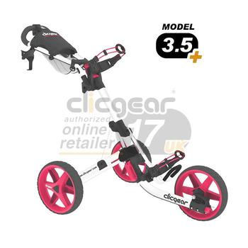 ClicGear Cart Golf Trolley 3.5 White/Pink