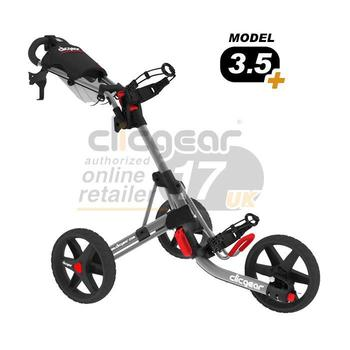 ClicGear Cart Golf Trolley 3.5 Silver