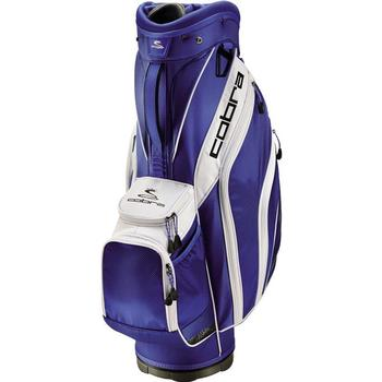 Cobra Golf Excell Cart Bag - Monaco Blue-White